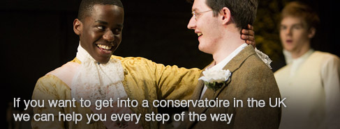 If you want to get into a conservatoire in the UK we can help you every step of the way